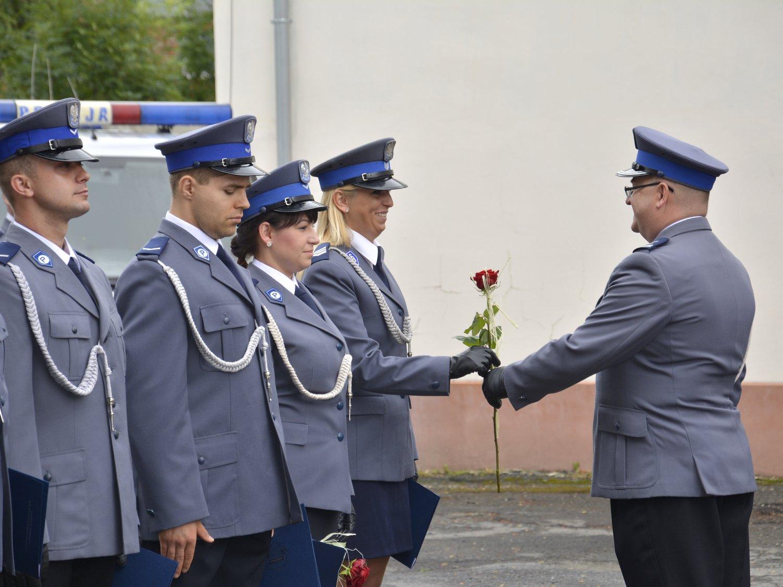 Ilustracja do informacji: Powiatowe obchody Święta Policji