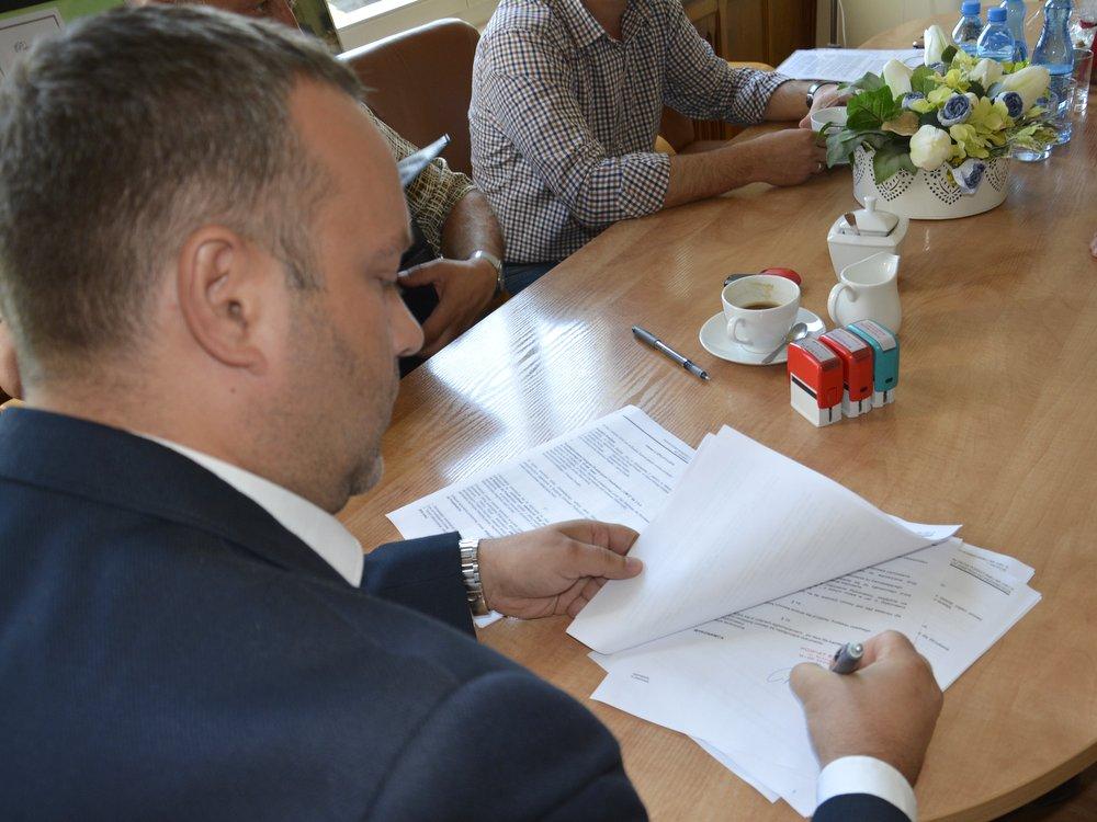 Ilustracja do informacji: Drogowe inwestycje Powiatu