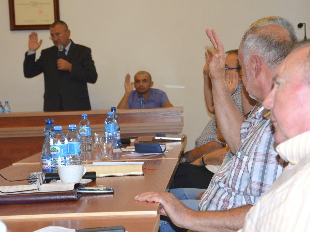 Ilustracja do informacji: XXII sesja Rady Powiatu