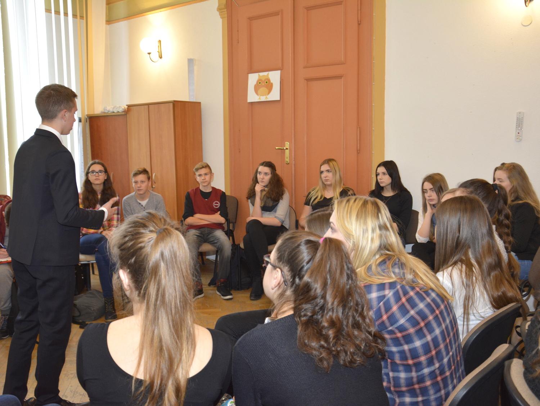 Ilustracja do informacji: Konferencja młodzieży