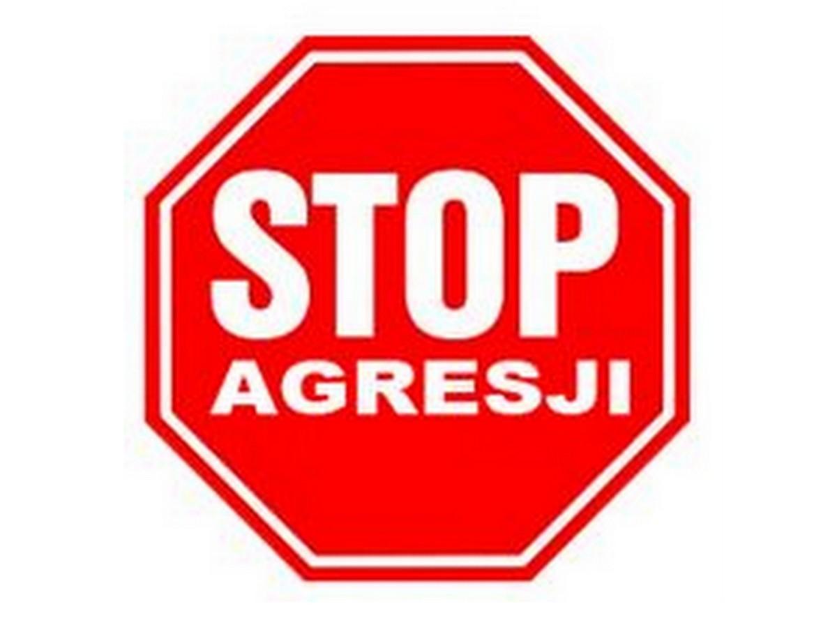 Ilustracja do informacji: Stop przemocy