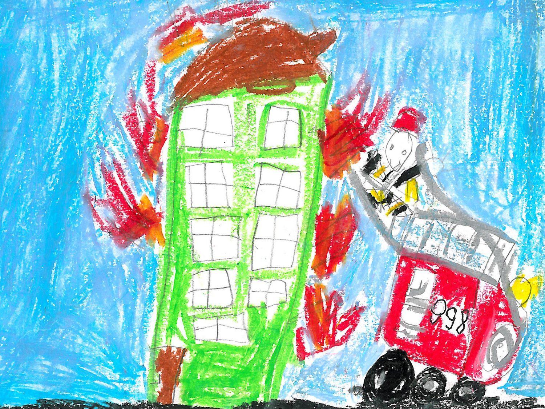 Ilustracja do informacji: Strażacy zawsze pomocni