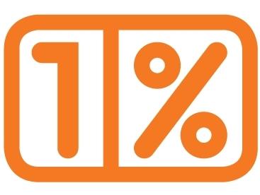 Ilustracja do informacji: 1% ma znaczenie