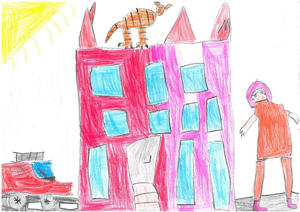 Ilustracja do informacji: Przedszkolaki wiedzą, że 112 ratuje życie