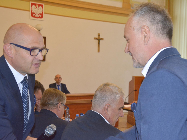 Ilustracja do informacji: Nowe władze Powiatu