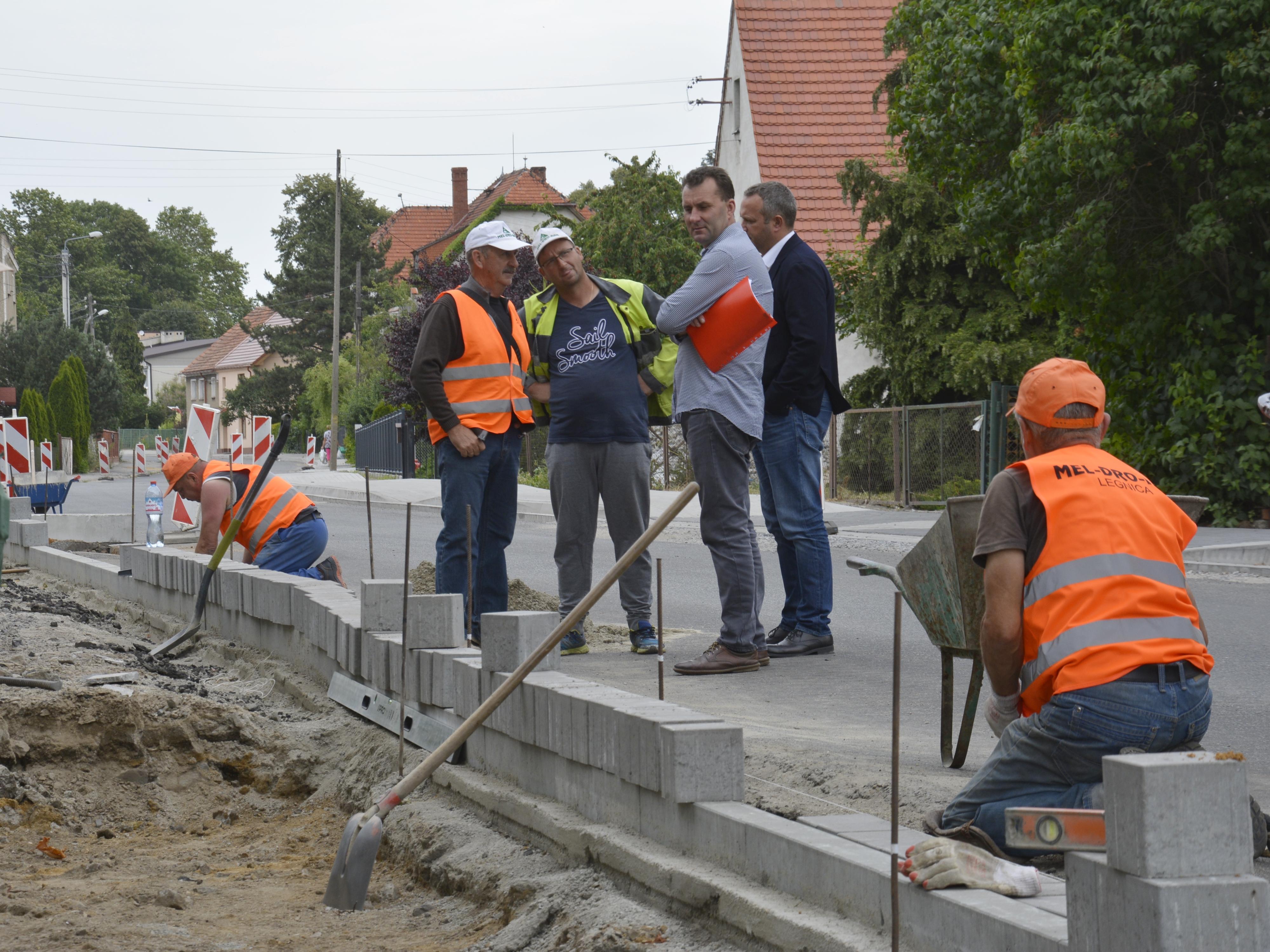 Ilustracja do informacji: Droga Piekary - Konary również do przebudowy